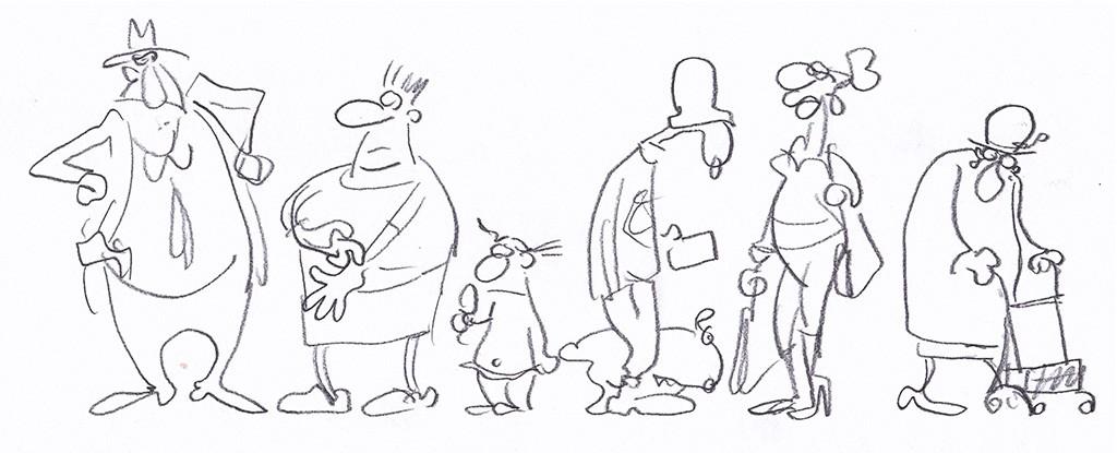Petra Kaster Cartoons-Comics-Zeichnungen a